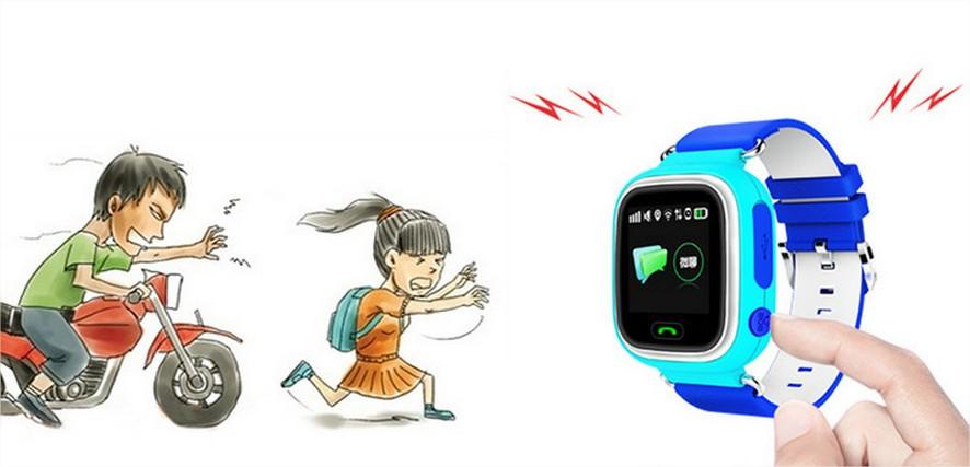 El reloj Infantil Q90 dispone de Función SOS