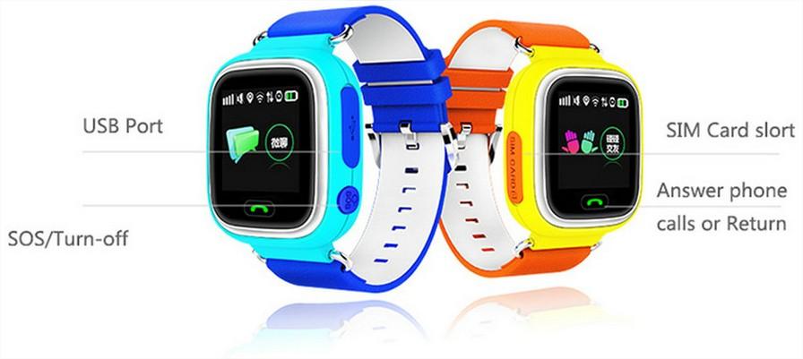 Reloj inteigente para niños Q90