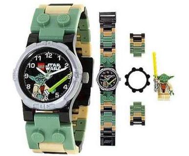 Reloj infantil Lego Star Wars Yoda