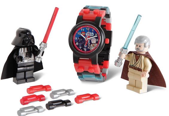 Reloj para niños Lego Star Wars Vader vs Obi wan