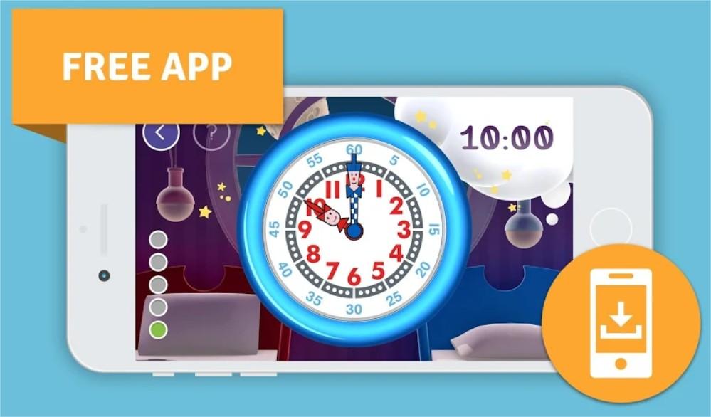 Aprende las horas en un reloj Analógico con los relojes Flik Flak