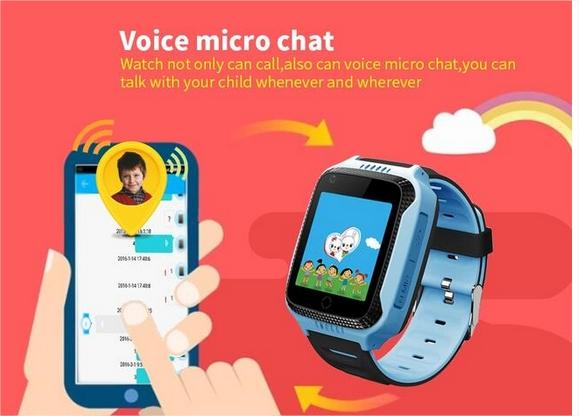 chat de voz a través del reloj con tarjeta SIM