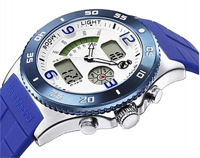 reloj digital real madrid