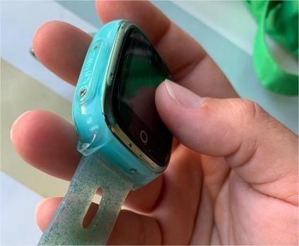 reloj azul savefamily