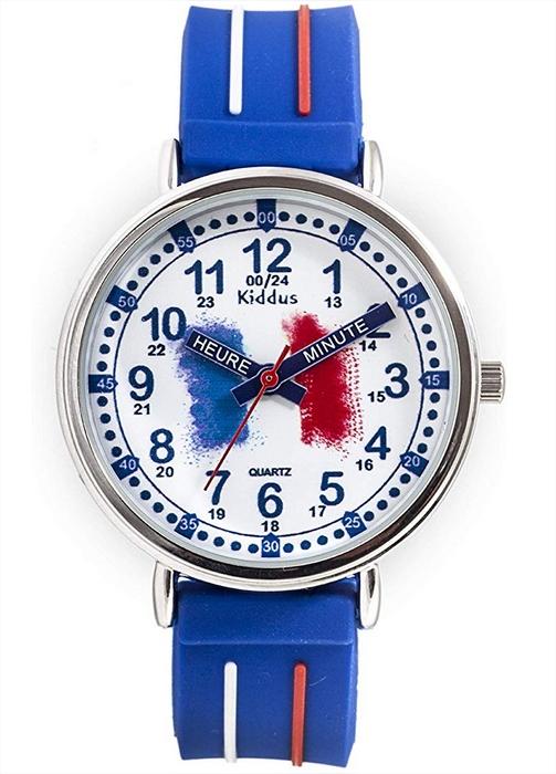 aprendiendo las horas en francés con kiddus reloj educativo